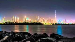 Earth Hour Burj Khalifa Dubai 2016-03-19Timelapse 4K UHD