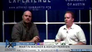 """Lost"" Atheist Experience #272 with Martin Wagner and Ashley Perrien"