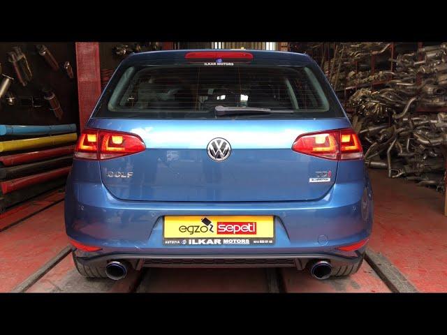 VW GOLF 7 1.6 DİZEL KUMANDALI VAREX EGZOZ SESİ