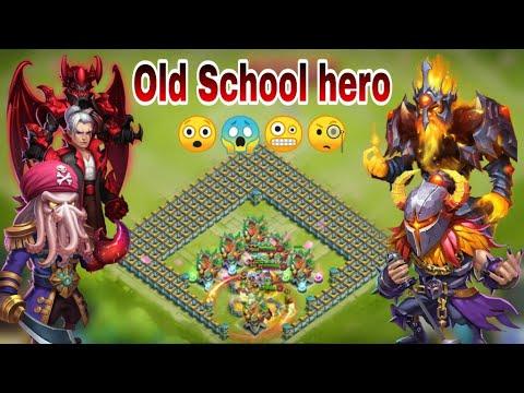 Ember Army | Old School Hero | Sk/DD/GF/PK/Aries | Fun | Castle Clash