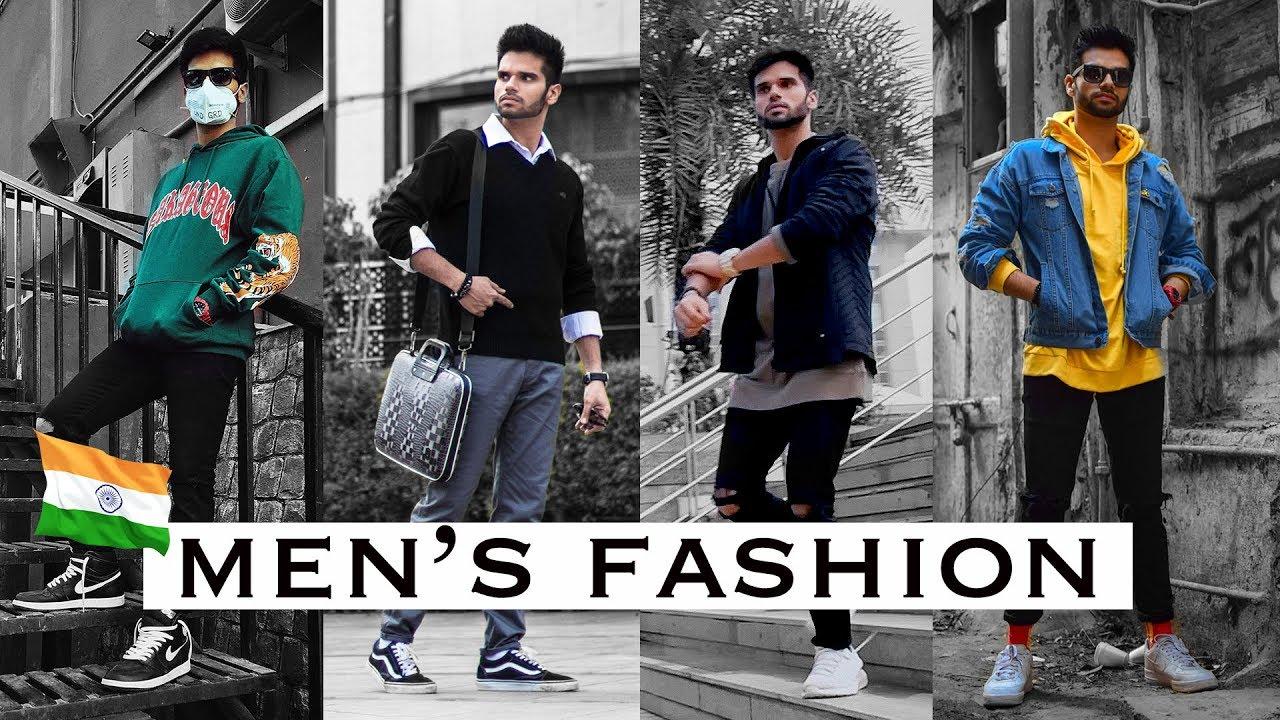 4 EASY OUTFITS FOR MEN 2019   Spring/Winter Lookbook for Indian Men 8