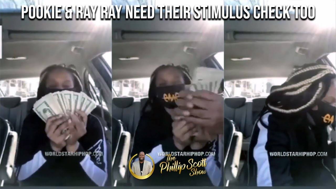 Woman Flossin Her Stimulus Money On The Gram Has It Snatched By Pookie & Ray Ray