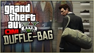 GTA 5 Online - How To Get The RARE Duffle-Bag Item! (GTA 5 Glitches & Tricks)(, 2015-03-30T17:56:25.000Z)
