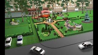 Ландшафтное проектирование территории летнего кафе
