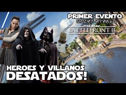 "¡Genial! - Héroes desatados en ""Galacto Asaltico"" - Star wars Battlefront 2 evento - Jeshua Revan thumbnail"