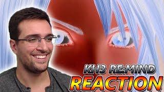 Kingdom Hearts 3 Re:Mind DLC Trailer Reaction!