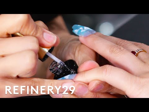 BLACKPINK'S Nail Artist Gave Me 2 Inch Jelly Nails | Beauty With Mi | Refinery29