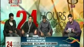 Tejani Brothers reciting the nasheed Al Mu'allim live on Hidayat TV