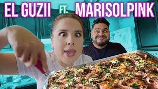 PIZZA de T-BONE con MARISOLPINK | EL GUZII