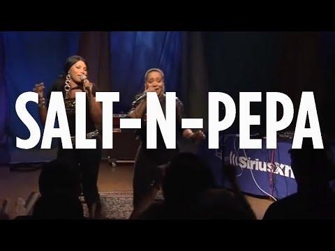 "Salt-N-Pepa ""Push It"" // SiriusXM // Backspin"