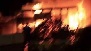 incendio Glam lido di ostia