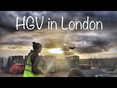 Hgv in London POV driving