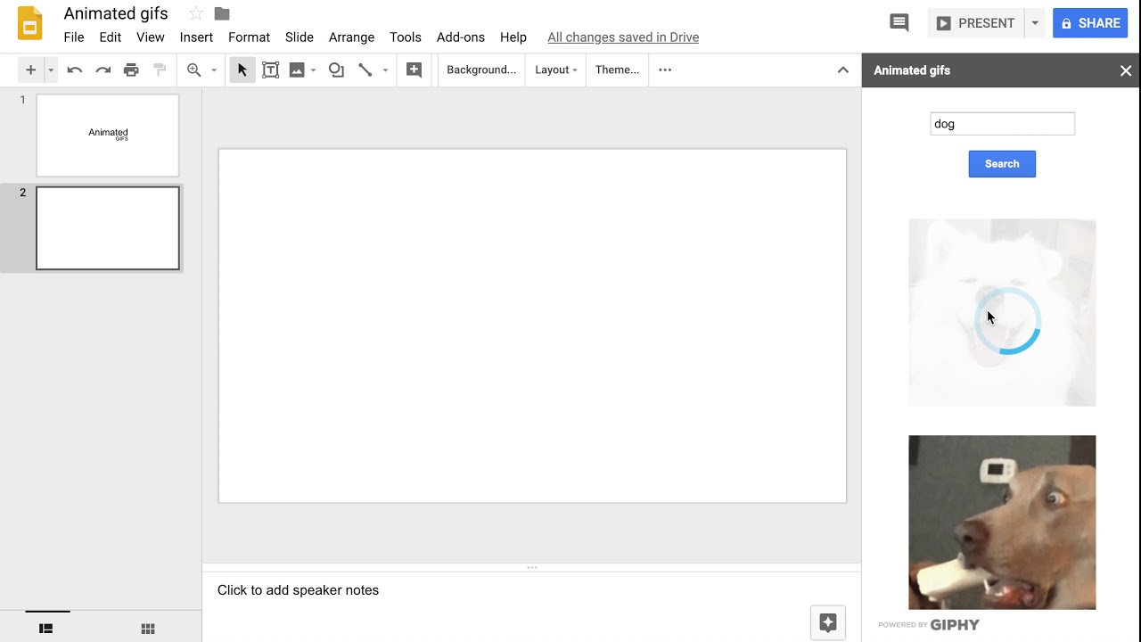 Animated gifs - G Suite Marketplace