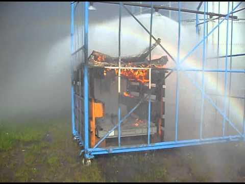 sprinklerdyser brand