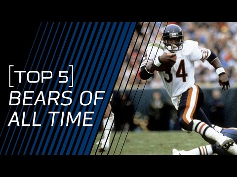 Top 5 Bears of All Time | NFL