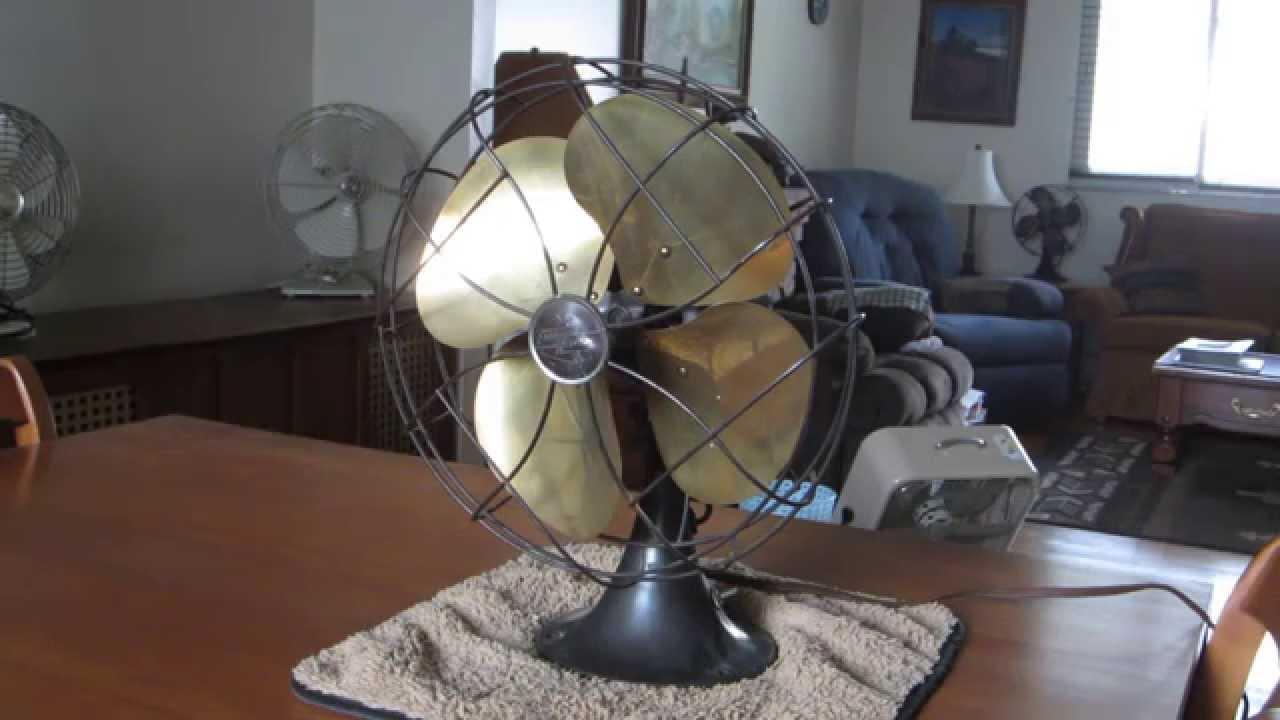 Emerson Desk Fan : Emerson quot desk fan model d youtube