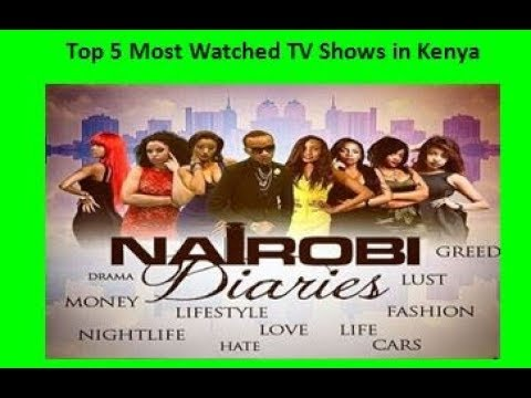 Top 5 Most Watched TV Shows in Kenya