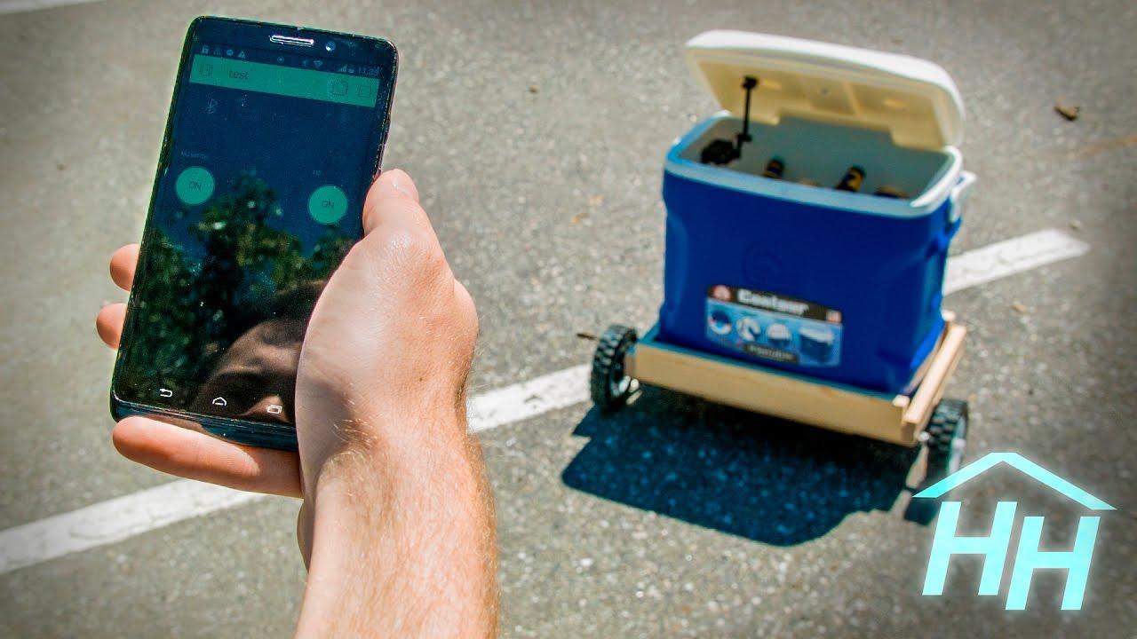 DIY: This Arduino Driven Cooler Autonomously Follows You -