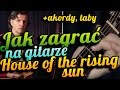 Download Jak zagrać na gitarze - House of the Rising Sun - akordy, arpeggio, linia melodyczna MP3 song and Music Video