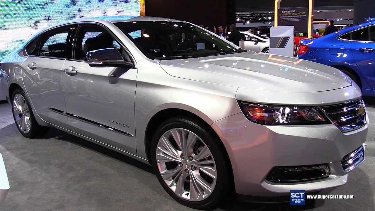 2016 Chevrolet Impala V6 Ltz Exterior And Interior Walkaround New York Auto Show