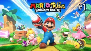 Twitch Livestream | Mario + Rabbids Kingdom Battle Part 1 [Switch]