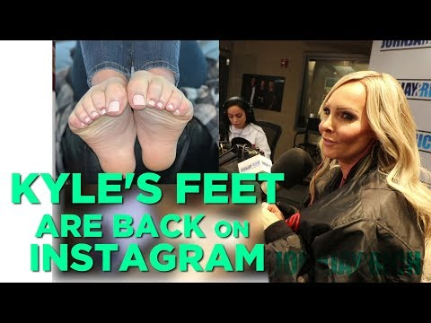 In-Studio Videos - Kyle's Perfect Feet ARE BACK on Instagram!