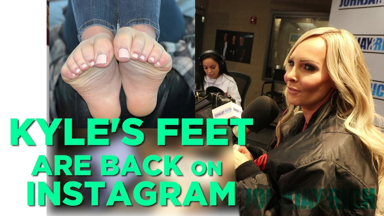 Kyle's Perfect Feet ARE BACK on Instagram!