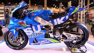 2018 Suzuki GSX-RR Moto GP #42 Alex Rins Racing Bike - Walkaround - 2018 AIMExpo Las Vegas