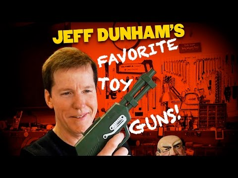 Jeff Dunham's Favorite Toy Guns! | JEFF DUNHAM