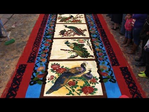 Preserving Culture: Guatemala's inspiring alfombra tradition (Subtitulado)