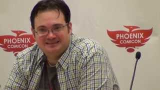 Brandon Sanderson and the Wheel of Time - Phoenix Comicon 2013