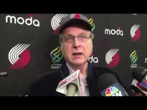 Trail Blazers owner Paul Allen shares expectations for the 2016-17 season