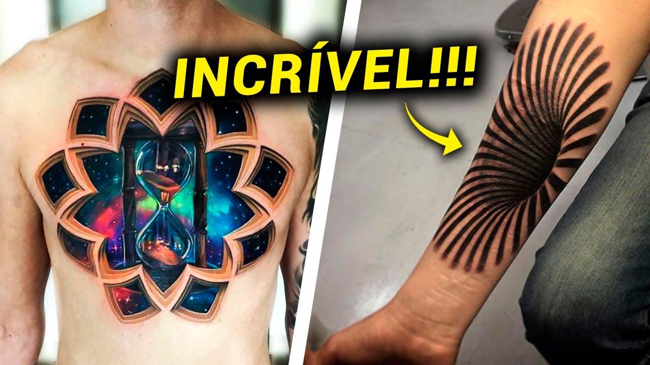 TATUAGEM 3D: Ideias ANIMAIS do Estilo de Tattoo 3D pra Inspirar!
