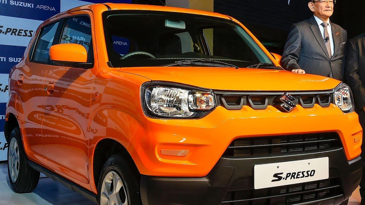 Suzuki Mini Suv >> Maruti Suzuki Launches S Presso Mini Suv Starting From Rs 3 69 Lakh