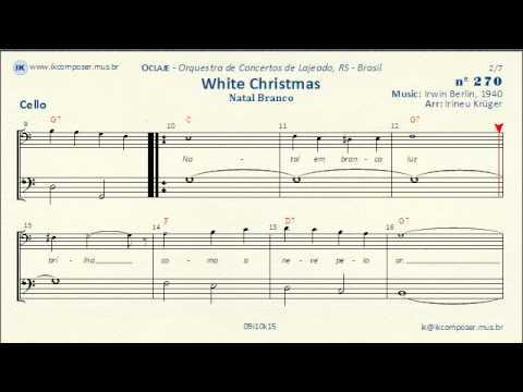 270 - White Christmas - (Cello)