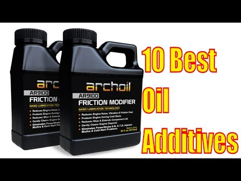 Which engine oil additive is best? 10 Best Oil Additives 2017