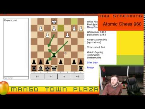 Chess Episode 76: Atomic Chess 960