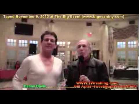 EVIL REF DANNY DAVIS FOUND AND TALKS @ THE APTER CHAT