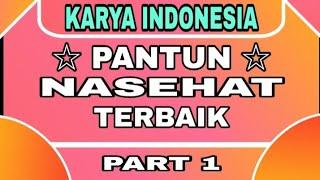 Download lagu PANTUN NASEHAT ( 4 Baris ) Part 1