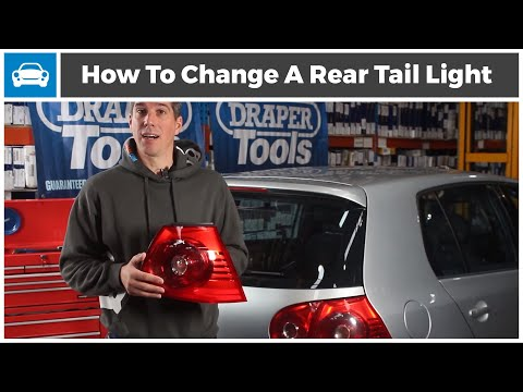 How to Change a Rear Tail Light / Rear Lamp