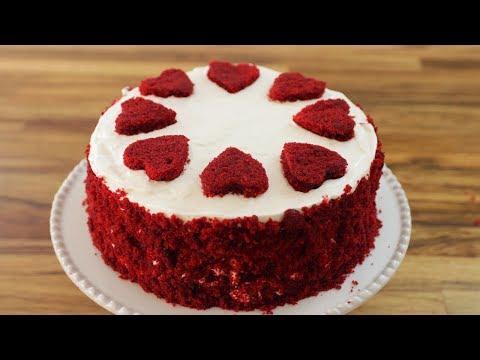 Red Velvet Cake Recipe | How to Make Red Velvet Cake