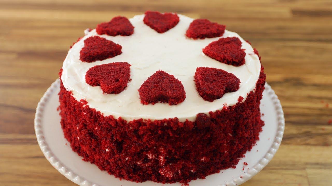 Red Velvet Cake Recipe How To Make Red Velvet Cake Youtube