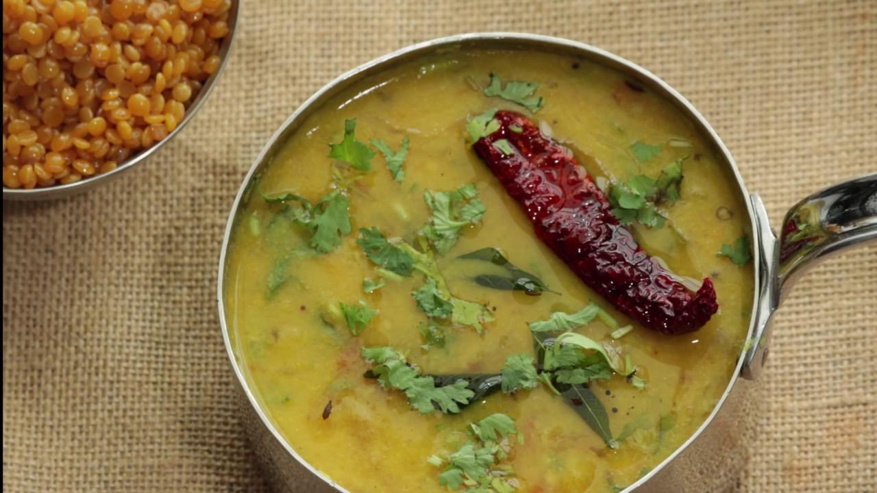 The Lunch Series l Tuvar Ji Poath l Pigeon Pea Lentil Curry l तूर दाल की  करी - YouTube