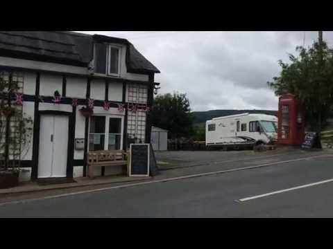 Club Motorhome Pub Stopover Videos - Mid Wales Inn, Rhayader, Wales