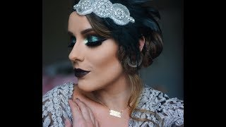 1920's FLAPPER GIRL MAKEUP!