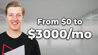 My Passive Income Story ($0 - $3000/month by age 24)