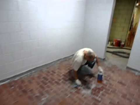Epoxy Coatings Walls And Floors Wall Complete Install Coving   YouTube