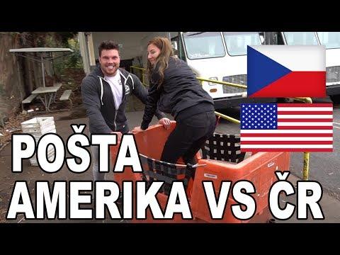 Největší rozdíly mezi Českou a Americkou poštou!