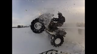 Gambar cover Can-Am 1000 Mud Mods snow ridge jumping