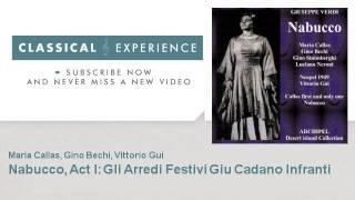 Maria Callas : Nabucco, Act I : Gli Arredi Festivi Giu Cadano Infranti - ClassicalExperience
